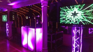 LED Booth with TV's