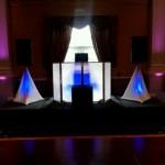 Blue LED DJ Booth