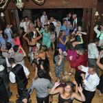 Birds Eye View of the Wedding Dance Floor