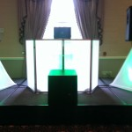 Green LED DJ Booth