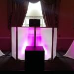 Amber LED DJ Booth