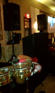 DJ with Percussion
