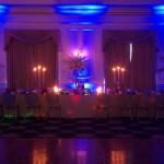 LED Uplighting - Blue