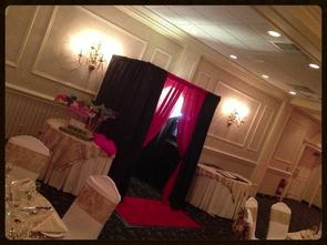 Red Carpet Entrance Photo Booth